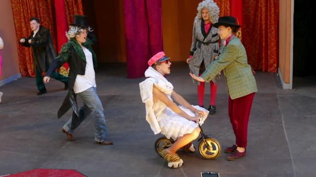 DER WIDERSPENSTIGEN ZÄHMUNG von William Shakespeare (Sommerbühne) Galerie 6