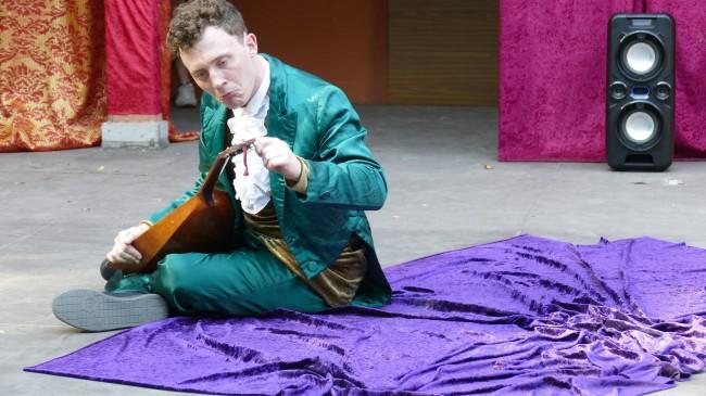 DER WIDERSPENSTIGEN ZÄHMUNG von William Shakespeare (Sommerbühne) Galerie 7